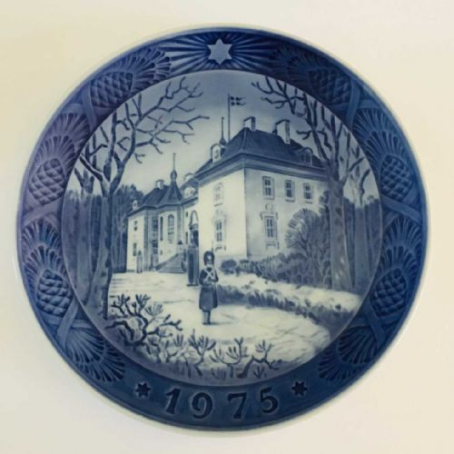 Royal Copenhagen - Collector - Christmas Plate - 1975